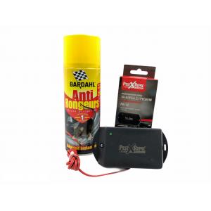 КОМПЛЕКТ: Спрей Bardahl 400 мл. за защита на кабелите на автомобилите + Електронен стационарен уред прогонващ гризачи в транспортни средства и лодки на най-добра цена
