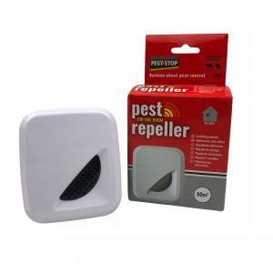 """Ултразвуков електронен апарат  """"Pest Stop 90""""  за прогонване на мишки, плъхове, хлебарки и мравки за 90 кв. м. - 1 помещение на най-добра цена"""