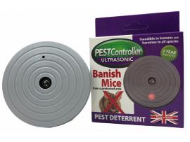 Уреди против Гризачи - Pest controller ултразвуков уред прогонващ мишки за 92 кв. м. - захранване с батерия 9V на най-добра цена