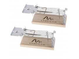 ТОП Продукти - Комплект от 2 бр. живохващащ капан за плъхове и мишки Gardigo на най-добра цена