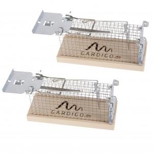 Комплект от 2 бр. живохващащ капан за плъхове и мишки Gardigo на най-добра цена