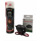 КОМПЛЕКТ: Спрей за защита на кабелите на автомобилите MOTIP 500 мл. + Електронен уред прогонващ мишки, плъхове и белки в транспортни средства и лодки Gardigo