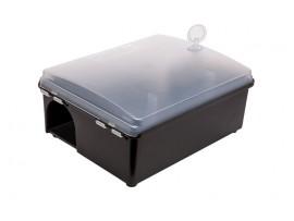 Дератизационна кутия РоБайт с ключ, за поставяне на отрови и капани с лепило за мишки и плъхове