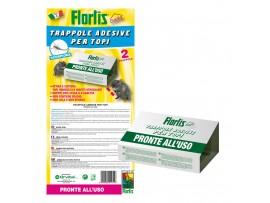 Капани за Мишки и Плъхове - Капани с лепило за мишки и скорпиони - 2 бр. FLORTIS на най-добра цена