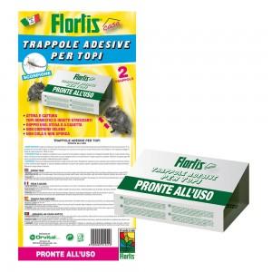 Капани с лепило за мишки и скорпиони - 2 бр. FLORTIS на най-добра цена