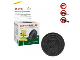Електронни устройства срещу Комари - Уред против мишки и плъхове, комари, хлебарки и белки VARIO-SCHUTZ, 3 в 1, Gardigo  на най-добра цена