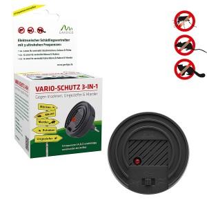 Уред против мишки и плъхове, комари, хлебарки и белки VARIO-SCHUTZ, 3 в 1, Gardigo  на най-добра цена