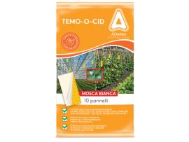 Еко продукти - Капан с феромон и лепило за Белокрилка, за оранжерии, градини и на открито за биоземеделие - 10 бр. за 50 кв. на най-добра цена