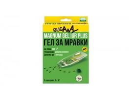 Биоциди (Инсектициди) - Къщички Магнум с биоциден гел за унищожаване на МРАВКИ - комплект 3 бр. на най-добра цена