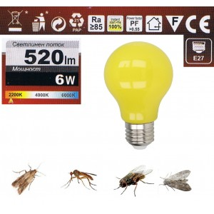 Крушка невидима за мухи, комари и други летящи насекоми на най-добра цена