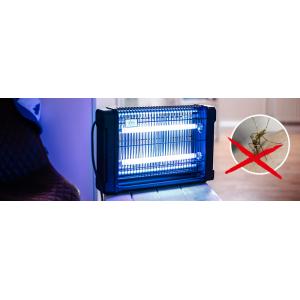 Професионална инсектицидна лампа убиваща летящи насекоми (мухи, комари и др.) до 70 кв.м. Gardigo - Германия на най-добра цена
