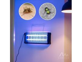 Инсектицидни лампи - Професионална инсектицидна лампа убиваща летящи насекоми (мухи, комари и др.) до 150 кв.м. Gardigo - Германия на най-добра цена