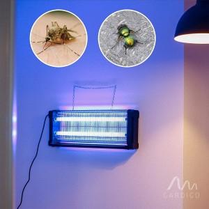 Професионална инсектицидна лампа убиваща летящи насекоми (мухи, комари и др.) до 150 кв.м. Gardigo - Германия на най-добра цена