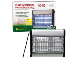 Мухи - Професионална инсектицидна лампа убиваща летящи насекоми (мухи, комари) до 70 кв.м. Gardigo - Германия на най-добра цена
