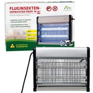 Професионална инсектицидна лампа убиваща летящи насекоми (мухи, комари) до 70 кв.м. Gardigo - Германия на най-добра цена