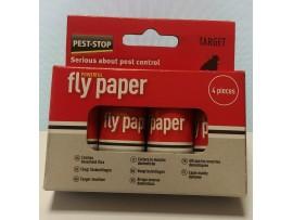 Капани за Мухи - Спирала-капан с лепило за мухи и други летящи насекоми - 4 бр. на най-добра цена
