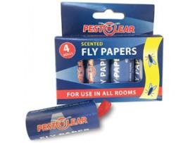 Капани за Мухи - Спирала-капан с лепило за мухи и други летящи насекоми - 4 бр. PestClear на най-добра цена