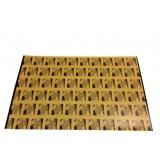 Едностранна леплива плоскост за инсектицидни лампи, размер 59.5/35 см по HACCP