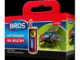 Капани и кутии - Спирала-капан с лепило за мухи и други летящи насекоми Брос - 4 бр. на най-добра цена
