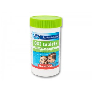 Безхлорна дезинфекция на вода: Кислородни таблетки за малки басейни Azuro Oxi Tabs MINI 45 бр. таблетки х 20 гр.  на най-добра цена
