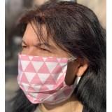 Маска за лице за многократна употреба цветна10 бр.