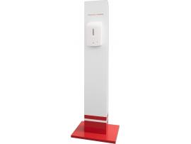 Стойка с Диспенсър автоматичен пенообразуващ HMI® MODULAR Touch-FREE Soap с регулиране на дозирането за сапуни, шампоани, дезинфектанти. Вместимост 650 мл