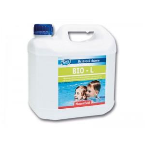 БЕЗХЛОРНА ДЕЗИНФЕКЦИЯ НА ВОДА: Azuro Bio L 3 л, против бактерии, водорасли и замърсявания на най-добра цена