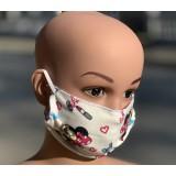 Детска маска за лице за многократна употреба  Пчелички - 10 бр.