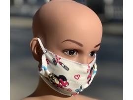 Промоции - Детска маска за лице за многократна употреба  Мики Маус - 10 бр.  на най-добра цена