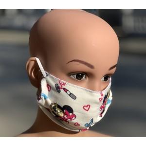 Детска маска за лице за многократна употреба  Пчелички - 10 бр.  на най-добра цена