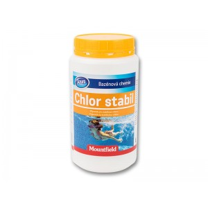 Стабилизатор бавен хлор Azuro Chlor Stabil 1 кг. гранулат на най-добра цена