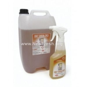 ОВЕНЛОРД (HMI®OVENLORD) - 750 мл. Професионален препарат за отстраняване на мазнини и нагари при печене и пържене на най-добра цена
