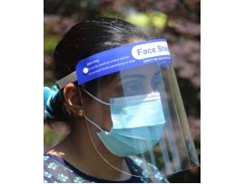 Професионален защитен шлем за лице.