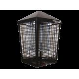 Инсектицидна лампа Титан 200 IP срещу летящи насекоми (мухи, комари и др.) за навън, устойчива на дъжд (IPX4) до 160 кв.м.
