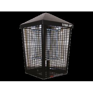 Инсектицидна лампа Титан 200 IP срещу летящи насекоми (мухи, комари и др.) за навън, устойчива на дъжд (IPX4) до 160 кв.м. на най-добра цена