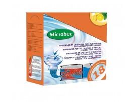 Микробец Препарат за почистване на септична яма или домашна пречиствателна станция - 18бр. х 25гр.