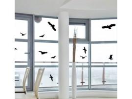 Защо са ми необходими стикери за защита от птици - Стикери за защита на прозорци/стъкла от сблъсък на птици - 5 бр. на най-добра цена