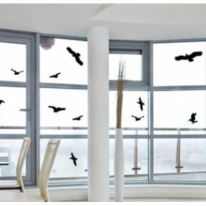 Стикери за защита на прозорци/стъкла от сблъсък на птици - 5 бр. на най-добра цена