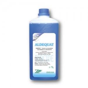 АЛДЕКВАТ - 1 л. концентриран препарат за почистване и дезинфекция на повърхности на най-добра цена