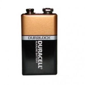 Алкална батерия  DURACELL ALKALINE, 9 V - 1 бр. на най-добра цена