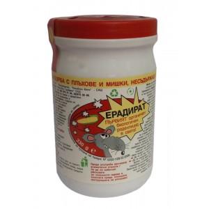 Био отрова за мишки и плъхове без опасни химични вещества Ерадират - 300 гр. на най-добра цена