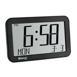 Bluetooth будилник с дата, термометър и влажност - 60.4511 на най-добра цена
