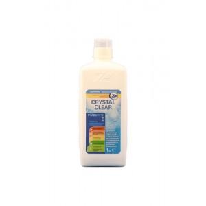 CRYSTAL CLEAR - 1 кг. течен препарат за поддържане на кристална чистота и прозрачност в плувни басейни на най-добра цена