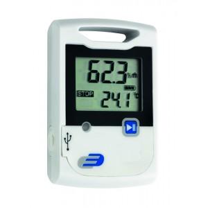 Дата логер за температура и влажност - 31.1052 без софтуер, калибриран в Германия на най-добра цена