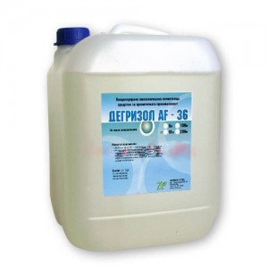 ДЕГРИЗОЛ AF 36 - 10 кг. - Високоалкален почистващ препарат  за хранителната промишленост на най-добра цена