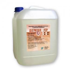 ДЕГРИЗОЛ FCP - Нископенлив - 10 кг. - Обезмаслител алкален и дезинфектант на най-добра цена