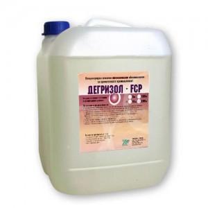ДЕГРИЗОЛ FCP - Високопенлив - 10 кг. - Обезмаслител алкален и дезинфектант на най-добра цена