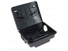 Дератизационна кутия БЕТА с ключ, за поставяне на отрови и капани с лепило за мишки и плъхове