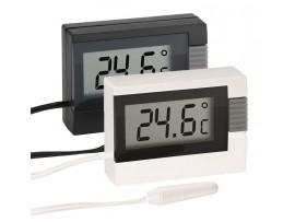 Дигитален термометър за вътрешна и външна температура - 30.2018.01