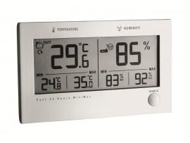 Хидромери - Дигитален термометър за вътрешна и външна температура - хигрометър TWIN PLUS - 30.3049 на най-добра цена